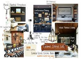 lower level living area design u0026 diy plans the handy homegirl