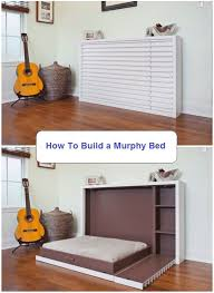 Build A Studio Desk Plans by Best 25 Diy Murphy Bed Ideas On Pinterest Murphy Bed Plans