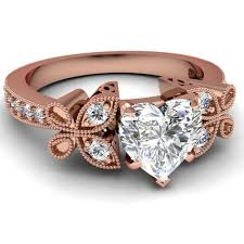 Heart Shaped Wedding Rings by Heart Shaped Engagement Rings Multiple Bands Wedding Bands 5