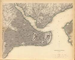 Constantinople Europe Map Free Here by Vámbéry ármin