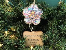 moving away ornament bloom where you are planted personalized
