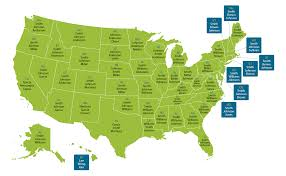 Massachusetts On Us Map by What U0027s The Most Popular Surname In Your State U2013 Ancestry Blog