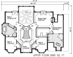 room floor plans sunken living room 90018pd architectural designs house plans