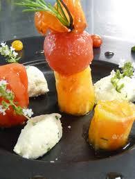 assiette de cuisine le mazerand lattes restaurant et sa recette assiette fraîcheur tomate
