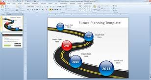 free future planning powerpoint template free powerpoint