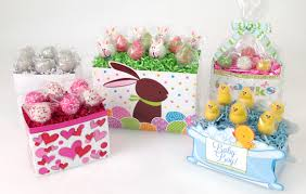 cake gift baskets how to display cake pops in a gift basket box