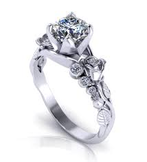 unique engagement ring settings cool k white gold unique engagement rings carat diamond ring set