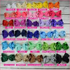 hair bows 8 inch rhinestone hair bow alligator clip bargain bows