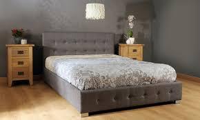 Three Quarter Ottoman Storage Bed Fabric Ottoman Storage Bed Groupon