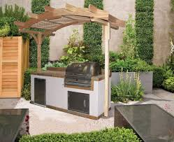 outdoors amazing outdoor kitchen kits with marble top and modern