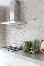 timeless kitchen backsplash 25 timeless brick kitchen backsplashes comfydwelling com
