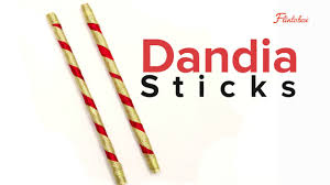 paper craft activity for kids how to make dandia sticks youtube