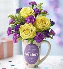 flowers birthday mugable best wishes in c pendleton ca camp pendleton florist
