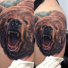 bear tattoos and designs page 202