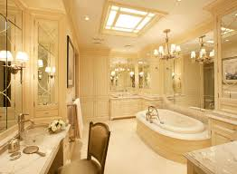 pleasant luxury master bathroom designs on classic home interior