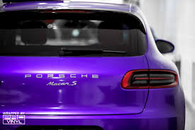 matte purple maserati vehicle vinyl wrapping and car paint protection 12