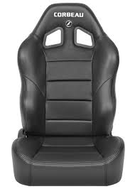 siege corbeau corbeau baja xrs reclining suspension seats