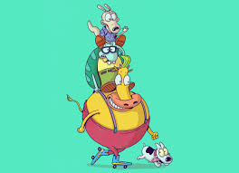 rocko s modern life best friends by alex solis threadless