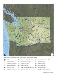 State Of Washington Map by Washington Profile