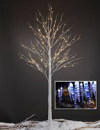 8 foot led christmas tree white lights lightshare led birch tree 8 feet xmas pinterest birch indoor