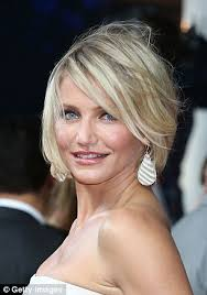 edgy haircuts women 40s women feel most confident at 40 cameron diaz makeup and hair style