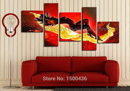 canvas decorations for home handpainted nude girl oil painting on canvas modern abstract
