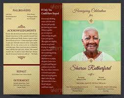 funeral booklet templates free memorial service program template invitation template