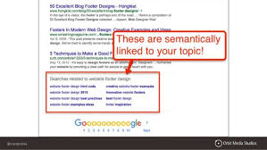 Footer Design Ideas Semantic Seo 5 Ways To Future Proof Your Seo And Search Rankings