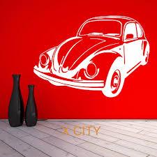 volkswagen old beetle for vw beetle bug retro volkswagen vintage classic car wall art