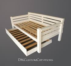 diy daybed with trundle custom made daybed and trundle the trundle rolls out nicely