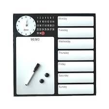 tableau magnetique cuisine horloge semainier magnetique et aussi meilleur modes memo cuisine