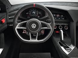 the volkswagen vision gti concept
