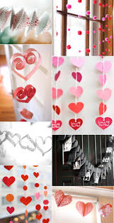 Valentine S Day Hanging Decorations by Valentine U0027s Day Decorations Make It Pinterest Decoration