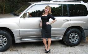 lexus lx470 tires celebrity drive lisa ann walter radio host actress comedian
