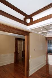 White Oak Bark Powder Custom Quartersawn White Oak Ceiling Moulding And Door Casing