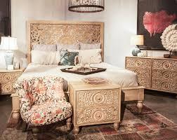 Eastern Accents Bedset World Interiors Haveli King Platform Customizable Bedroom Set