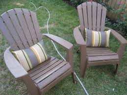 Homemade Adirondack Chair Plans Furniture Grey Stripped Adirondack Chair Cushions For Your Patio