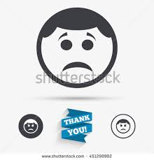 smile face cut identity template icon stock vector 335231945