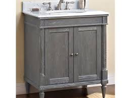30 inch vanity in weathered oak bathroom vanities and sink