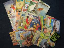 collection rupert bear annuals ladybird books clare auction