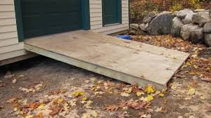 Free Plans For Building A Wood Shed by How To Build A Ramp Youtube