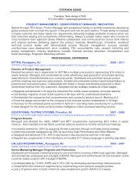 product manager resume sample top 8 software product manager