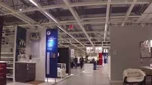 Ikea Inside People Taking Escalator To The Main Floor Inside Ikea Store With