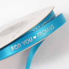 customized ribbon wedding favor ribbon personalized favor ribbon customized