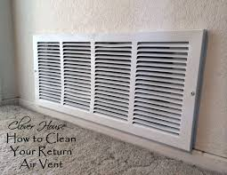 How To Clean The Walls by Clover House How To Clean Your Return Air Vent