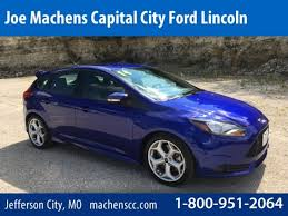 2014 ford focus st blue used 2014 ford focus st st performance blue metallic for sale in