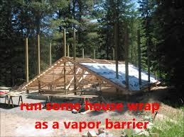Hip Roof Barn by Pole Barn Raising The Roof Youtube