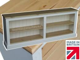 low white bookcase 6ft wide painted adjustable shelving unit