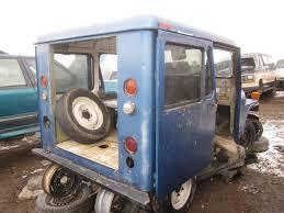 postal jeep conversion junkyard find 1972 am general dj 5b