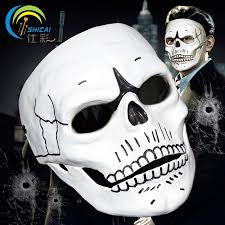 James Bond Costume Halloween Spectre Mask 007 Movie James Bond Party Halloween Christmas